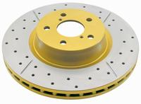 DBA Gold Street Series (Drilled & Slotted) Rotor Set