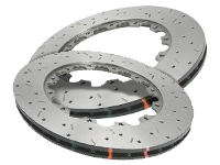 DBA 5000 Series Drilled/Slotted Replacement Rotor Set